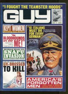 GUY DECEMBER 1964-RICHARD DEMING-WW2-PULP FICTION-VF+