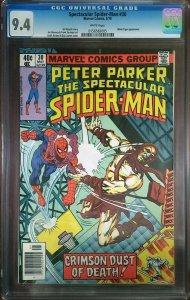 Spectacular Spider-Man 30 CGC 9.4 Marvel 1979