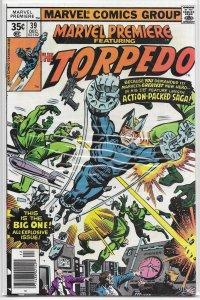 Marvel Premiere   #39 FN Torpedo