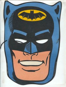 Batman & Robin Face Mask 1966-GE Television premium-2 sided-VF-