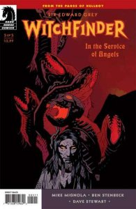 Sir Edward Grey: Witchfinder - In the Service of Angels #5, VF+ (Stock photo)