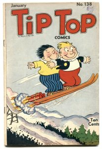Tip Top Comics #138 1948-Skiing cover- Li'l Abner VG