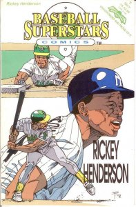 BASEBALL SUPERSTARS COMICS 5  VF-NM Rickey Henderson COMICS BOOK