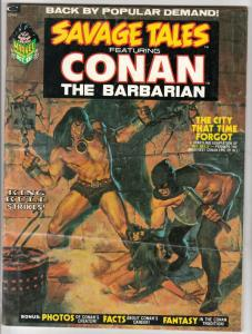 Savage Tales #2 (Oct-73) FN/VF Mid-High-Grade Conan the Barbarian