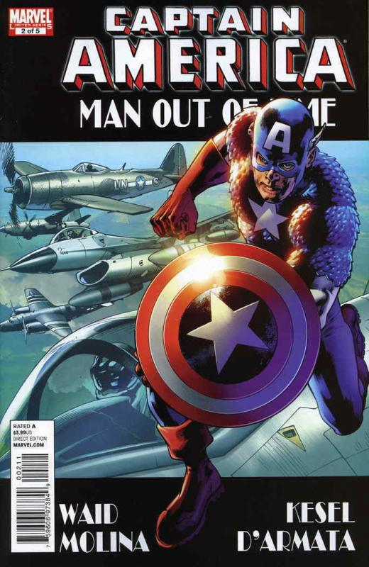 Captain America: Man Out of Time #2 FN; Marvel | save on shipping - details insi