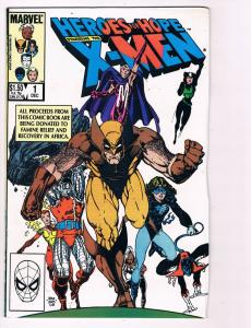 Heroes For Hope Feat X-Men # 1 Marvel Comic Books Hi-Res Scans Awesome Issue S22