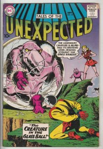 Tales of the Unexpected #53 (Sep-60) FN+ Mid-High-Grade Space Ranger, Cyrl