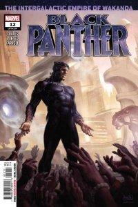 Black Panther (2018 series) #12, NM + (Stock photo)