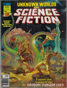Unknown Worlds of Science Fiction #1 (Marvel, 1976) NM