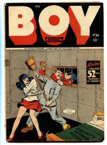BOY #24 Golden-Age 1948 comic book CONCENTRATION CAMP HOLOCAUST issue