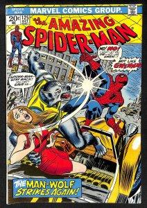 Amazing Spider-Man #125 VG/FN 5.0 2nd Man-Wolf! Marvel Comics Spiderman