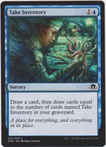 Magic the Gathering: Eldritch Moon - Take Inventory