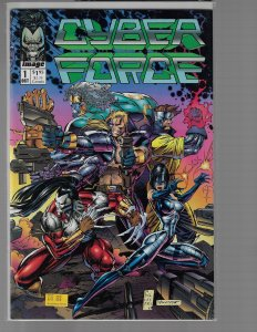 Cyber Force #1 (Image, 1992) NM