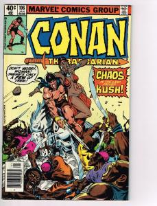 Conan The Barbarian # 106 VF Marvel Comic Book Canning PEDIGREE Collection D16