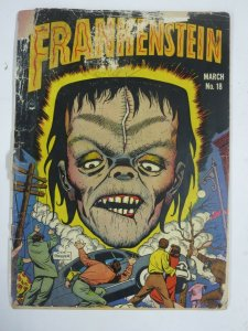 FRANKENSTEIN COMICS  #18 (Prize, 3/1952) POOR-FAIR (PR-FR) Pre-code horror!