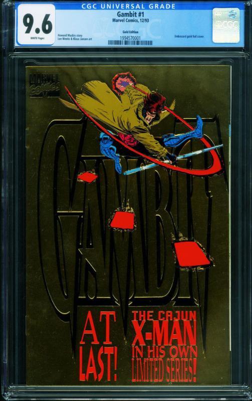 Gambit #1 Gold edition CGC 9.6-1993-1994570001