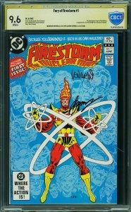 Fury of Firestorm #1 (Marvel, 1982) CBCS 9.6