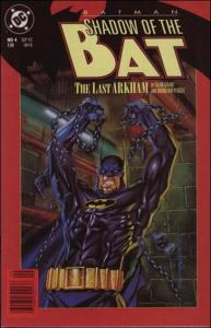 DC BATMAN: SHADOW OF THE BAT #4 VF