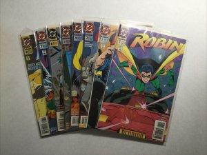 Robin 1-8 1 2 3 4 5 6 7 8 Lot Run Set Near Mint Nm Dc Comics