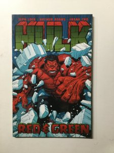 Hulk Red And Green Tpb Sc Softcover Near Mint Nm Jeph Loeb Marvel