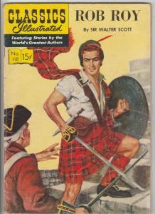 Classics Illustrated #118 (Apr-54) VG/FN Affordable-Grade