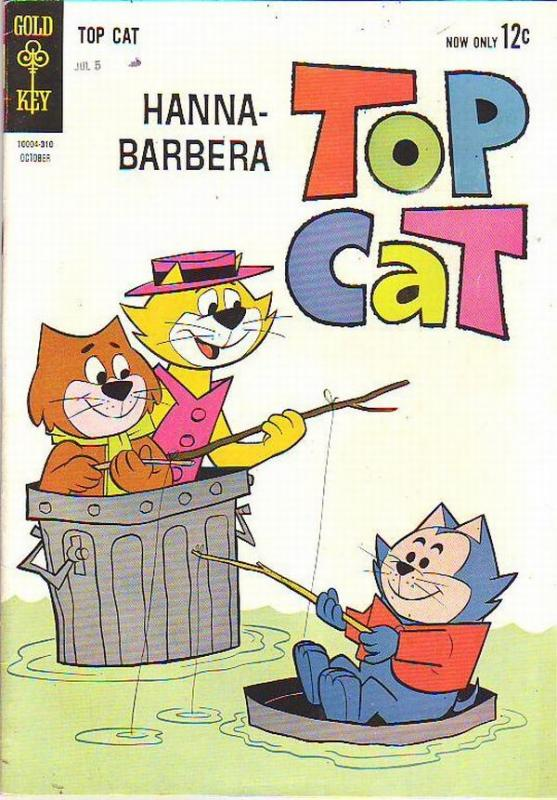Top Cat #8 (Oct-63) FN/VF+ Mid-High-Grade Top Cat and Crew