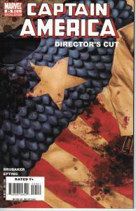 Captain America v5 #25 Director's Cut (Marvel July 2007) Shocking Event!