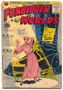 Forbidden Worlds #58 1957- Strange Godfather FAIR