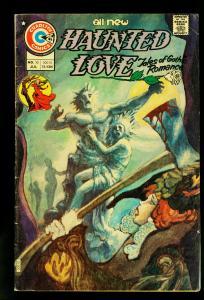 Haunted Love #10 1975- Charlton Comics- Gothic stories-Romance- VG