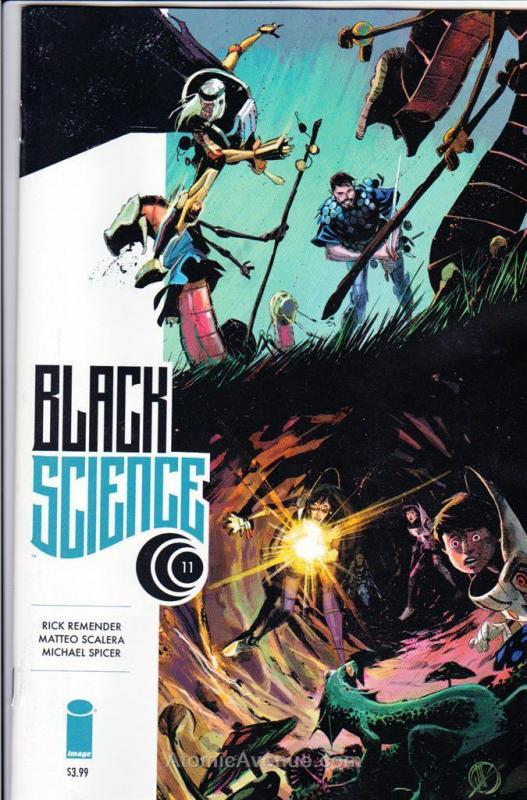 Black Science #11 VF/NM; Image | save on shipping - details inside