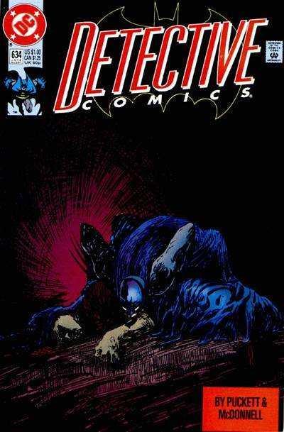 Detective Comics (1937 series) #634, VF+ (Stock photo)