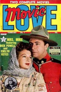 Movie Love #1 FAIR; Famous Funnies   low grade comic - save on shipping - detail