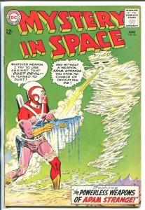 MYSTERY IN SPACE #84 1963-DC-ADAM STRANGE-vg