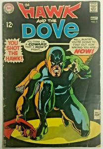 HAWK & DOVE#5 VG 1969 DC SILVER AGE COMICS
