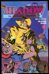 THE SHADOW #3, VF/NM, Howard Chaykin, DC, 1986 more DC in store, Who Knows