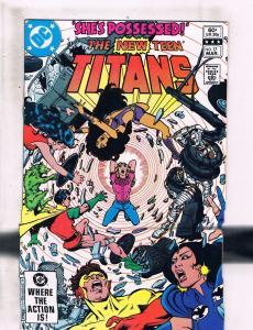 Lot Of 2 Teen Titans DC Comic Books # 17 20 Robin Wonder Woman Flash Cyborg HJ5