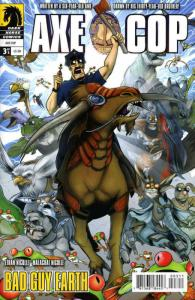 Axe Cop: Bad Guy Earth #3 VF/NM; Dark Horse | save on shipping - details inside