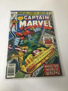 Captain Marvel 52 Vg Very Good 4.0 Marvel