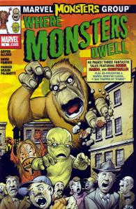 Marvel Monsters: Where Monsters Dwell #1 VF; Marvel | save on shipping - details