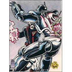 1993 Upper Deck Valiant/Image Deathmate SPARTAN STRIVES #60