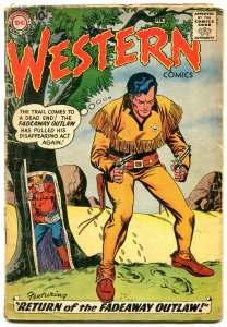 Western Comics #73 1959- Nighthawk- Pow-Wow Smith G+