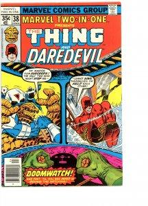 Marvel Two-In-One 38 F   Daredevil!