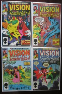 Vision and The Scarlet Witch # 1 - 12 - 2nd Series - 6.0 FN - 1985