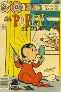 Popeye #136 VG; Charlton | low grade comic - save on shipping - details inside