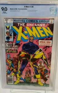 UNCANNY X-MEN #136 - CBCS 9.0 GRADE - VF/NM WHITE PAGES - NEWSSTAND
