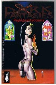 DARK FANTASIES #2 Foil, NM, Vampire, Kevin Taylor, 1994, more indies in store