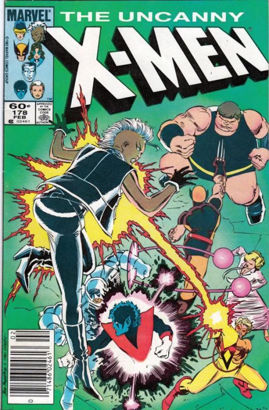 X-Men #178 (Feb-84) NM- High-Grade X-Men