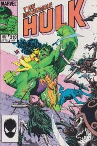 Incredible Hulk (1968 series) #310, VF+ (Stock photo)