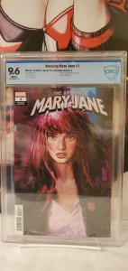 Amazing Mary Jane 1 CBCS 9.6 1 for 50 Variant Cover