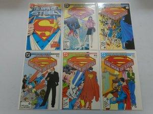 Superman Man of Steel set #1-6 6.0 FN (1986)